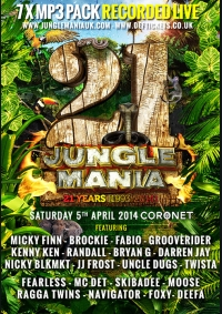 21 Years of Jungle Mania