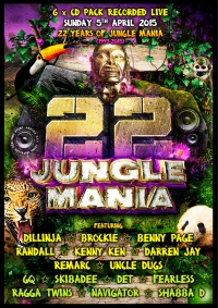 jungle mania cd pack