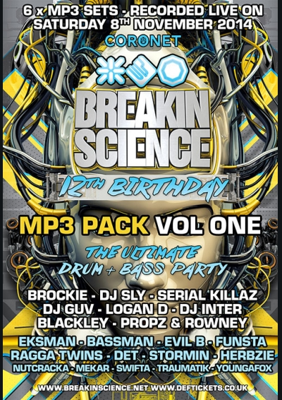 Breakin Science 12th Birthday Vol 1