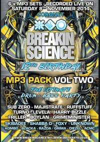 Breakin Science 12th Birthday Vol 2