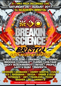 Breakin Science Bristol 2017 - 8 x MP3 pack