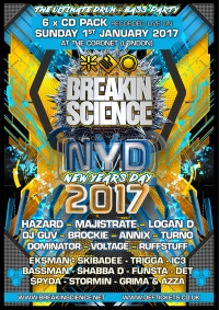 BREAKIN SCIENCE NYD (JAN 2017) - 6 x CD PACK