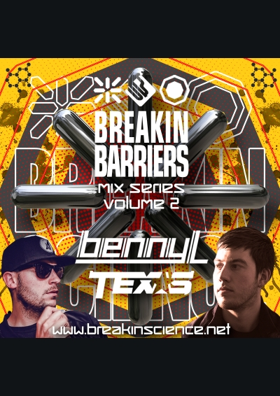 Breakin Science Present Breakin Barriers Vol 2 Benny L & MC Texas