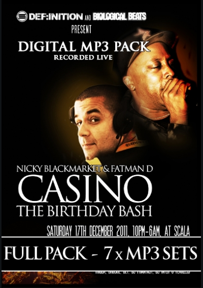 CASINO BIRTHDAY BASH - MP3 PACK
