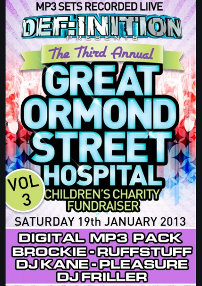 DEF:INITION - GREAT ORMOND STREET CHARITY FUNDRAISER - VOL 3