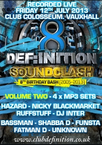 DEF:INITION 8TH BIRTHDAY - VOLUME 2 (4 x MP3 PACK)