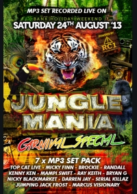 JUNGLE MANIA CARNIVAL SPECIAL 2013 (7 x MP3 PACK)