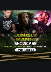 Jungle Mania Showcase : Inter, Fearless + General Levy Live PA - DnB Street 2016