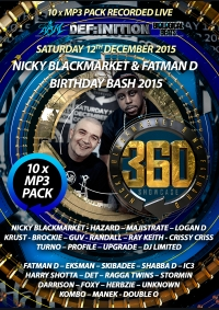 NICKY BLACKMARKET & FATMAN D BIRTHDAY BASH DECEMBER 2015 A